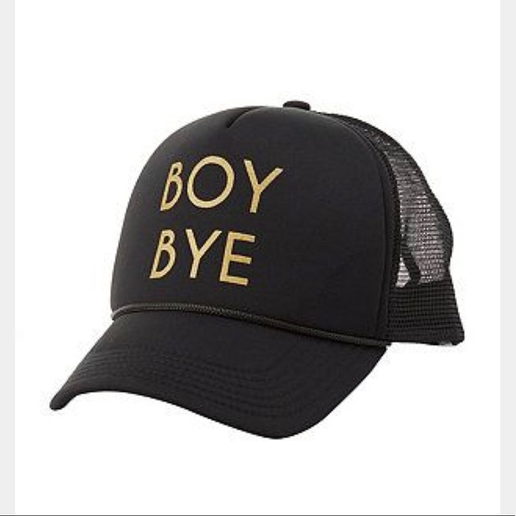 fb956063dcf88b Charlotte Russe Accessories   Nwt Boy Bye Black Baseball Hat   Poshmark